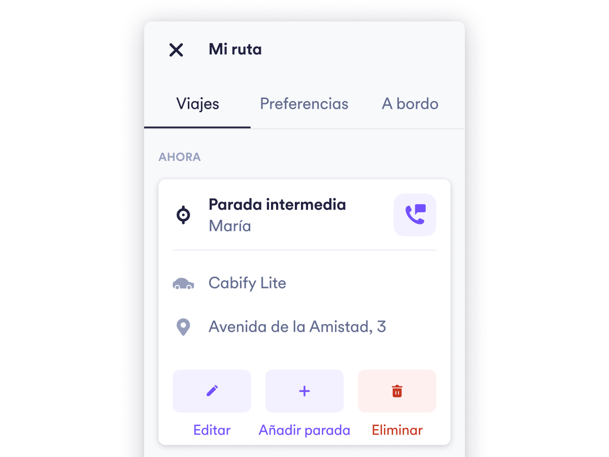 Como funcionam as paradas no app?